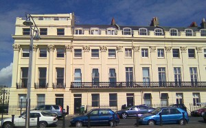 Brunswick Terrace, Brighton.