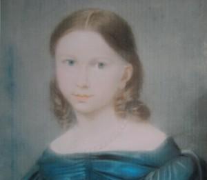 Pastel portrait of Henriette von Ditges