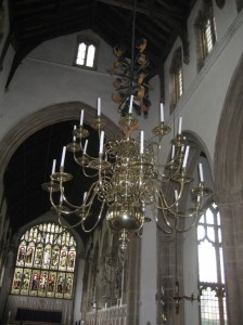 Chandelier Walpole St Peter, Norfolk