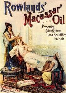 Macassar Oil advert