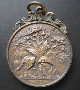 1839 roses medal awarded to Alexander Rowland