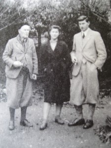 William Domville Rowland with Bridget and Barry