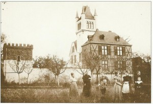 Henriette von Ditges'family schloss at Bad Honnef in the Rhine near Bonn, now a Business School